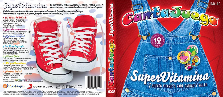 CantaJuego - SuperVitamina - Lista de canciones
